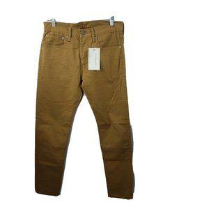 Levi's 512 Pants Mens 31X32 Slim Taper Stretch NWT